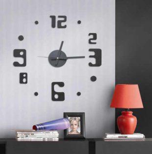 Nalepovací hodiny na zeď G21 Eccentric Style
