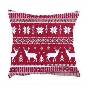 Povlak na polštář s vánočním motivem